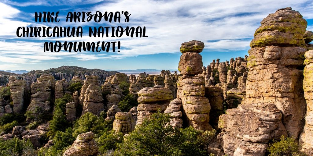 If you're anything like us, you love devouring treats all holiday season long. Lucky for us, there are plenty of incredible hiking trails to balance it all out! If you're wanting to switch up your regular neighborhood stroll, walk through 12,000 acres of otherworldly rock formations Aa Arizona's Chiricahua National Monument!